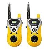 Bazaar 2Pcs Mini Walkie Talkie Outdoor Communication Electronic Phone Kids Toys Portable Two