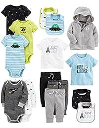 Baby Boys' 15-Piece Basic Essentials Set