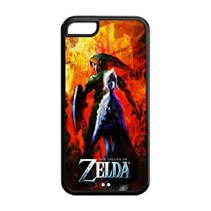6 4.7 Case, iphone 6 4.7 Case - Fashion Style New The Legend of Zelda Painted Pattern TPU Soft Cover Case for iphone 6 4.7 (Black/white)