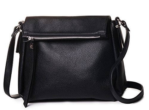 AMELIE GALANTI Women's Shoulder Bags Zipper Flap Crossbody Bag