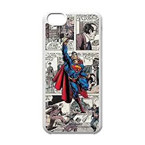 iPhone 5C phone cases White Superman Phone cover NAS3841324