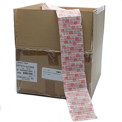 Bandage Case Pack - Bulk Plastic Bandage Strips By Medifirst 1x3 3500/Bulk Case