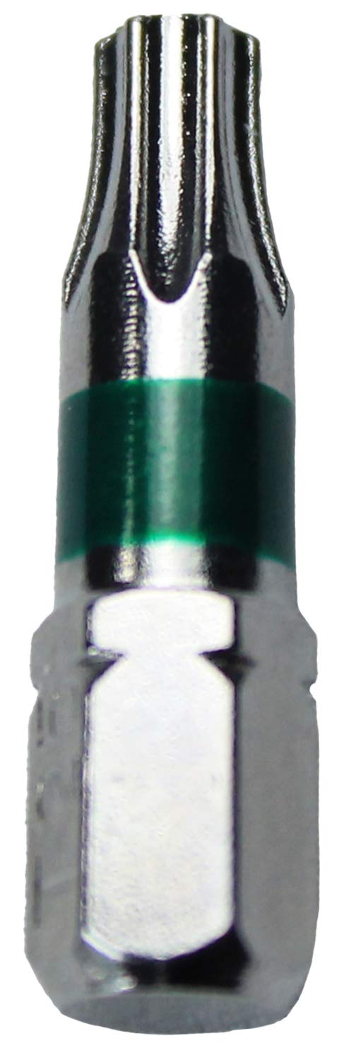 T40 T-40 T-40 Torx//Star Driver Bit Color Coded T40 Torx//Star Drive Quick Change Shank Bit for Screws and Fasteners Requiring T40 Size Bits