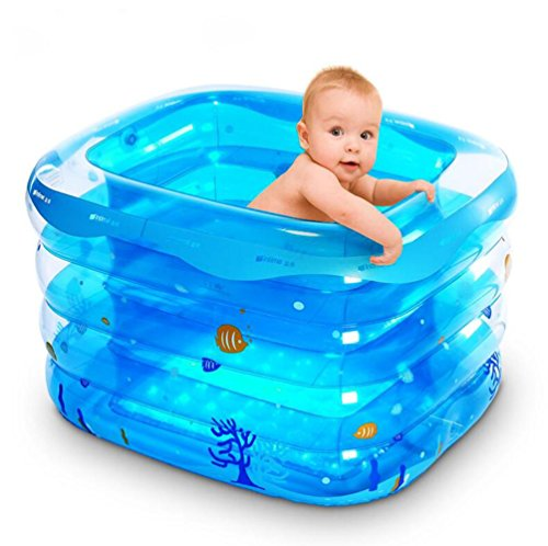 DU&HL Baby Pool, Baby Inflatable Pool Tub (S: 120cm; L140cm) , L by DU&HL