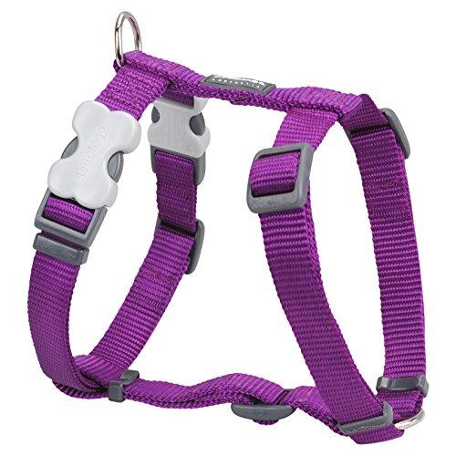 red-dingo-classic-dog-harness-small-purple