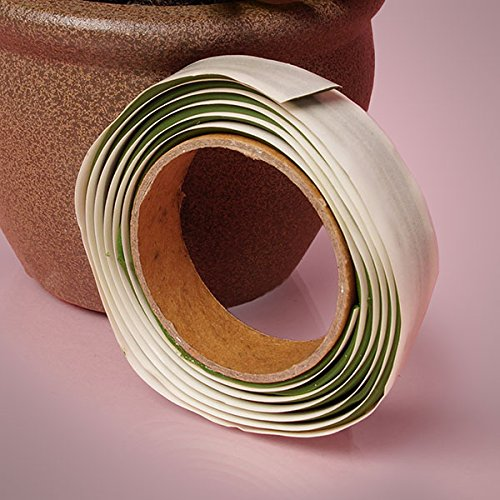 Premium Green Florist Sticky Clay Tape - 4 Feet by 1/2 Inches