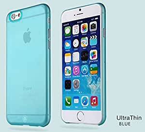 Case Cover for Iphone 6 Xmy Thin Translucent Protective Sleeve Korea Ip6 Phone Sets Light Blue