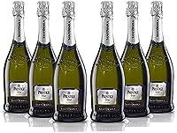 Sant'Orsola Spumante Cuvèe Brut Prestige Vino Espumoso Italiano Extradry Seco - 6 Botellas X 750ml