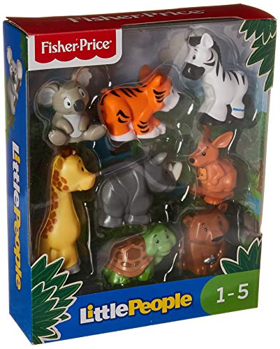 Fisher-Price Little People Animal Pack, 8 Pack