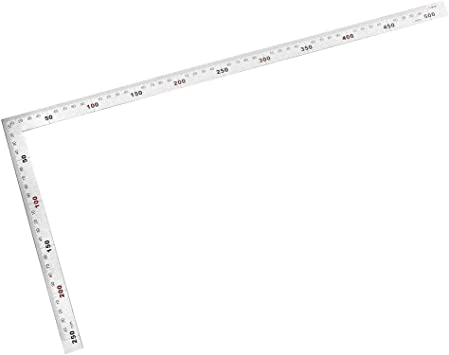 1PC Steel L-Square Angle Ruler 90 Degree Ruler for Woodworking Carpenter Tool