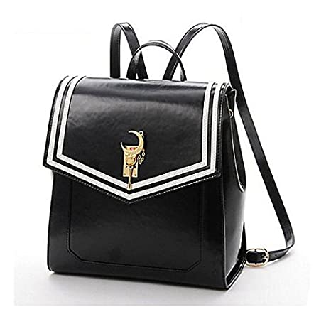 83f97f58810b Ehdching Anime Sailor Moon Tsukino Usagi Backpack Cosplay Schoolbag (Black)