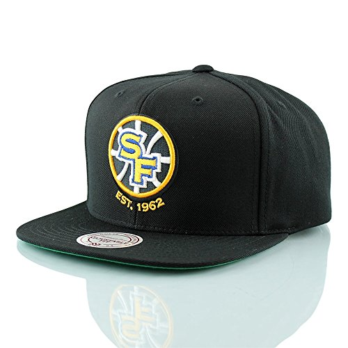 Mitchell & Ness Golden State Warriors Wool Solid NT78Z Snapback Cap Basecap