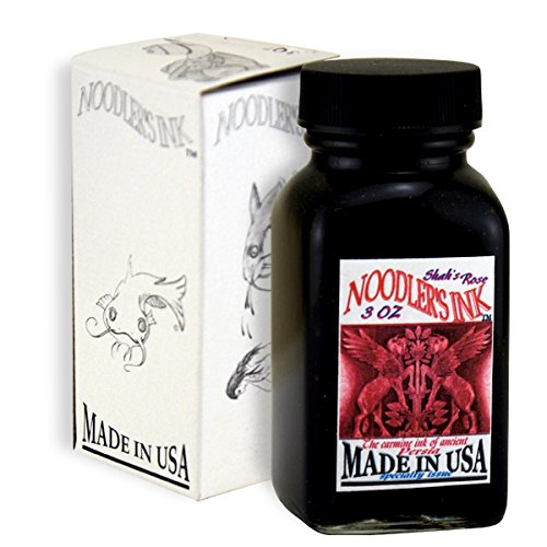 Noodler's Ink Fountain Pen Bottled Ink, 3oz, Shahs Rose by Noodler's (Image #1)