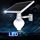 DMMSS led Solar energy patio Street lights Remote + light control Energy saving outdoor wall lamp