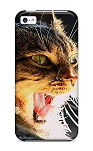 Fashion Protective Cat Animal Cat Case Cover For Iphone 5c