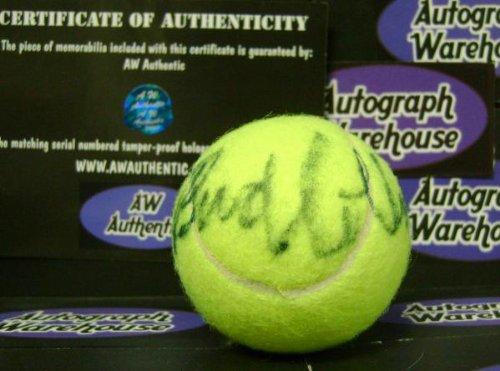 Autograph Warehouse 17842 Bud Collins Autographed Tennis Ball