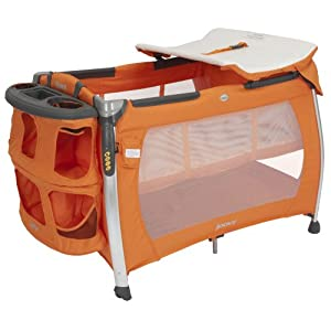 Joovy Room Playard with Bassinet and Changing Table, Orangie