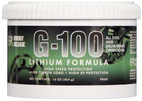 Energy Release P008T G-100 High Speed Lithium Grease Tub - 16 oz.