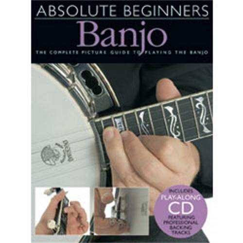 Hal Leonard Absolute Beginners Banjo (Book and CD) by Hal Leonard