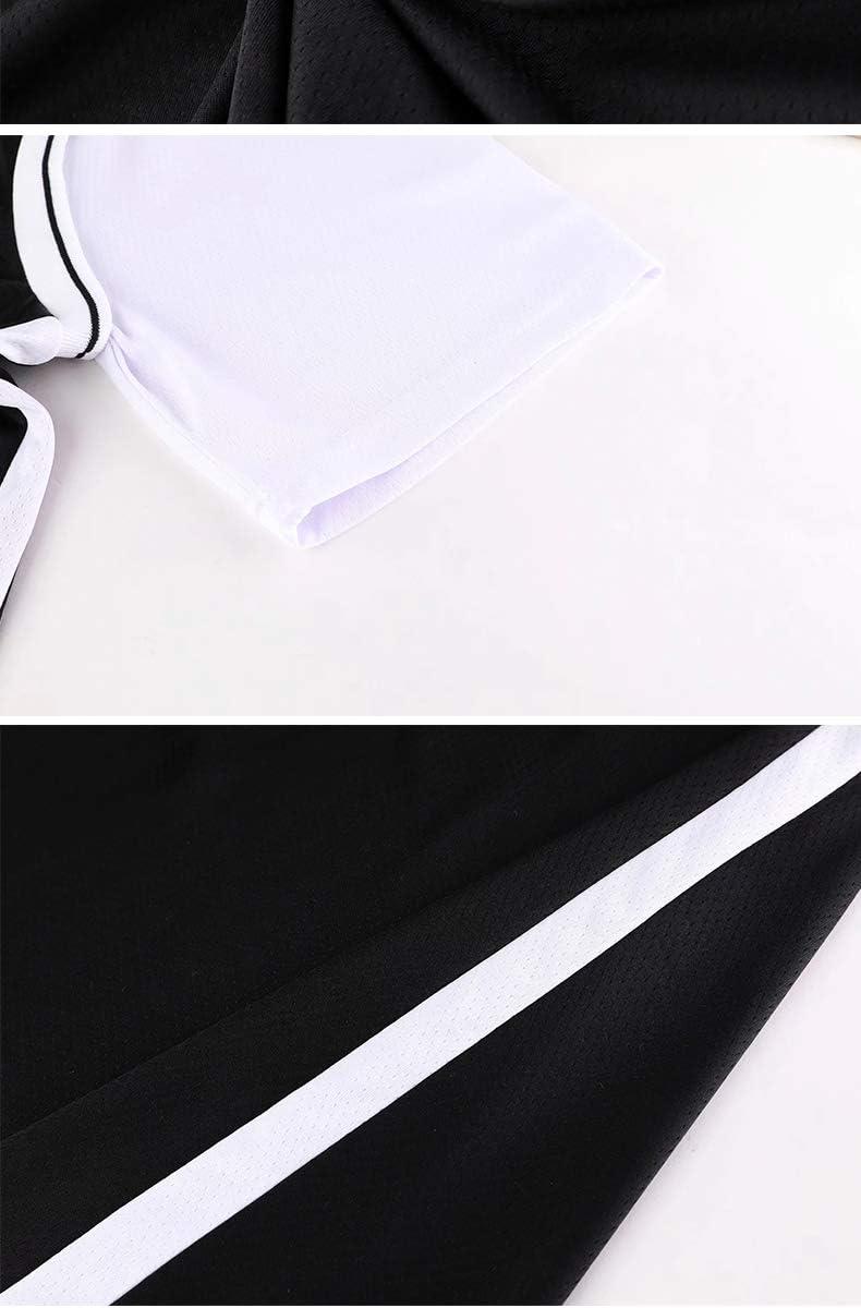 FILWS Camiseta De Baloncesto Kevin Durant Fake Uniforme De Baloncesto De Dos Piezas Camiseta De Manga Corta para Hombres Y Mujeres Camiseta Transpirable De Secado R/ápido Ventiladores De Tela Camiseta