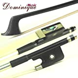 Top D Z Strad #622 Bass Bow Carbon Fiber French Type 3/4