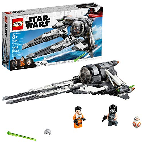 LEGO Star Wars Resistance Black Ace TIE Interceptor 75242 Building Kit (396 - Lego 2 War