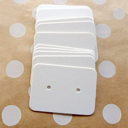 Earrings Cards 50 Assortment Color Cardstock Earring Cards Display  Cards,Jewelry Cards,Earring Tags,Jewelry Package Cards Popular item