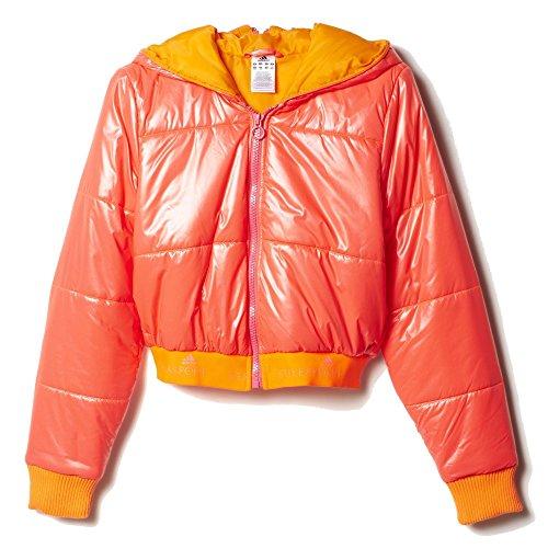 Adidas Womens STELLASPORT Warm Padded Jacket (Medium, Semi Solar Red)