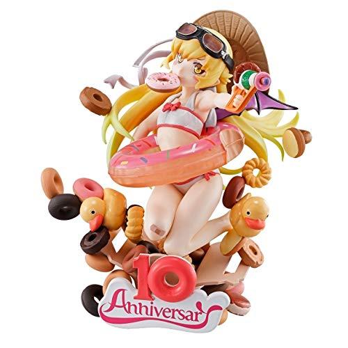 Banpresto kuji story Series 10th B Award Oshino Shinobu Figure 11cm