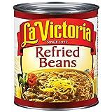 La Victoria Refried Bean - no. 10 can, 6 cans per case