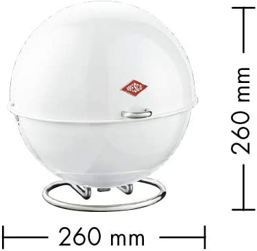 WESCO 223 101-51 Super Ball Storage Box Powder Coated Steel 26.0 x 26.0 x 26.0 cm Mint