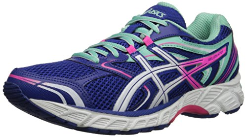 ASICS Women's Gel-Equation 8-W, Dazzling Blue/White/Hot Pink 8.5 M US