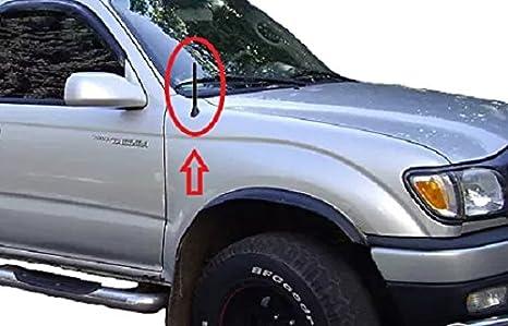 1999 2000 2001 2002 2003 2004 99 00 01 02 03 04 Mast Power Radio AM//FM 4-Door Laredo Limited Overland Sport Black Stiff Rubber Antenna for JEEP GRAND CHEROKEE 6.75 inch 1999-2004 6 3//4, short