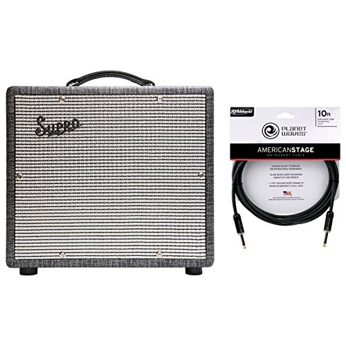 Supro 1600 Supreme 25w Class A 1x10 Guitar Tube Amp w/ Cable 25w Tube Guitar