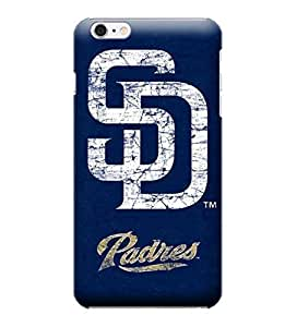 JIDANBING Phone Protective Covers,MLB-San Diego Padres Skin Slim Case Covers Compatible For iphone 6 plus(5.5)