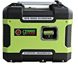 2000 Watt Portable Generator - Green-Power America GPG2000i 2000W Inverter Generator, Green/Black