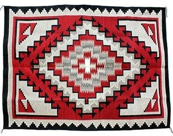 Amazon.com: Marie YAZZIE, ganado rojo, Navajo tejida a mano ...