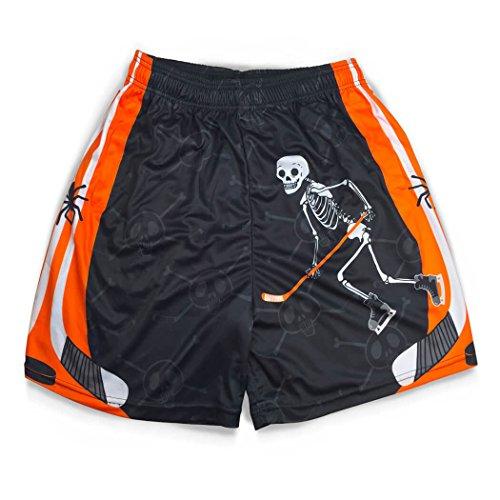 Premium Hockey Athletic Shorts | Halloween Mr. Bones | Adult Medium]()