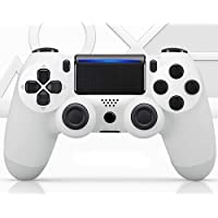PS4 Controller Wireless Bluetooth Gamepad [Upgrade Version], Touch Panel Gamepad for PS4/3/Pro/Slim/PC with Dual…