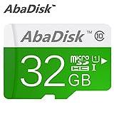 AbaDisk Micro SD Card Class 10 Memory Card 32GB TF Micro SD Trans Flash Cards