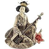 Design Toscano Das Lied der Geisha, Skulptur