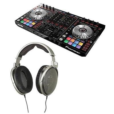 Pioneer Electronics DDJ-SX2 4-Channel Performance Serato DJ Controller - Bundle With Sennheiser HD 650 Audiophile Dynamic Hi-Fi Stereo Headphone