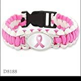 144 Breast Cancer Awareness Pink Bracelets