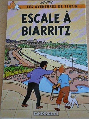 Tintin–Scalo a Biarritz (pasticcio)–10x 15cm cartolina Générique