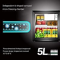Mini-nevera Lxn Refrigerador Negro para Bebidas, 50 l ...