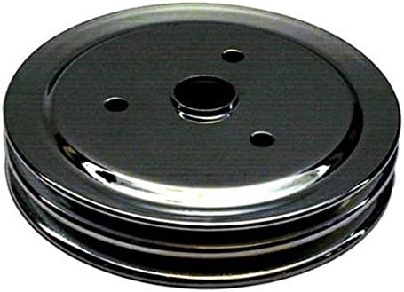 1969-85 Small Block Chevy Double Groove Lower Pulley Long Water Pump