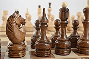 Unusual handmade wooden chessmen chess pieces board games gift ideas men