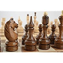 Unusual Handmade Wooden Chessmen Chess Pieces Board Games Best Gifts For Him