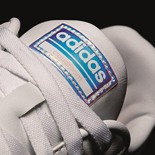 Gymnastikschuhe Advantage Clean 000 Ftwbla Damen adidas Corneb Ftwbla W Cloudfoam Weiß nWgqT