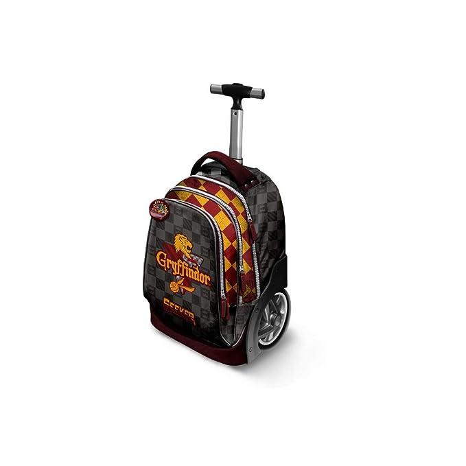 Mochila trolley niños del bolso de escuela HARRY POTTER GRYFFINDOR VZ880: Amazon.es: Ropa y accesorios